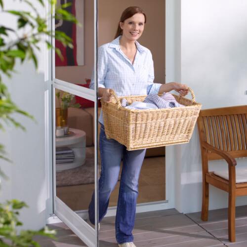 Insektenschutz für Fenster, A. Scholtyssek, Pendeltür