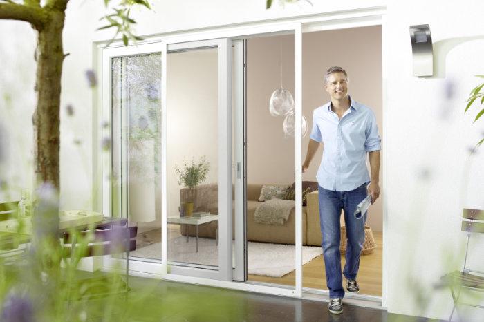 Insektenschutz für Fenster, Schiebeanlagen