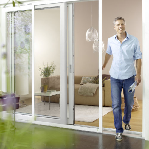 Insektenschutz für Fenster, A. Scholtyssek, Schiebanlagen
