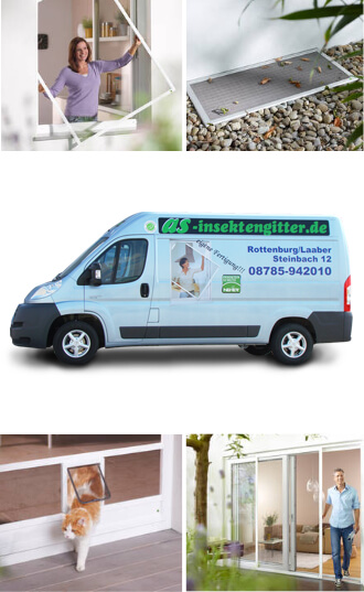 Insektenschutz für Fenster, A. Scholtyssek, Rottenburg & Wenzenbach