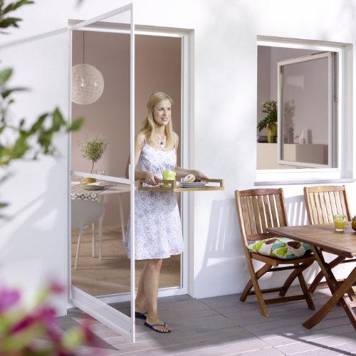 Insektenschutz für Fenster, A. Scholtyssek, Drehrahmen