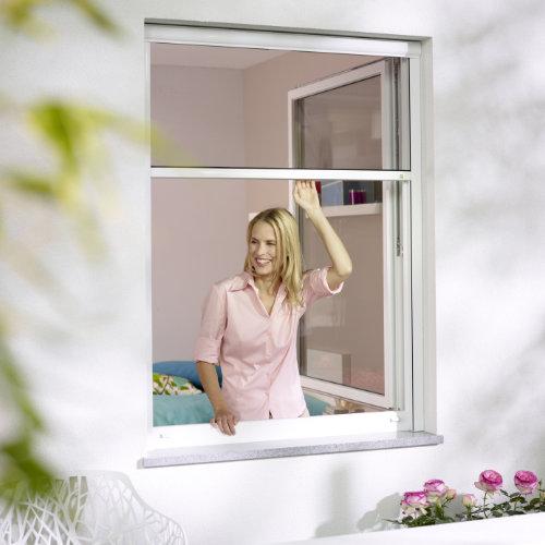 Technik von AS Insektengitter - Rollo für Fenster